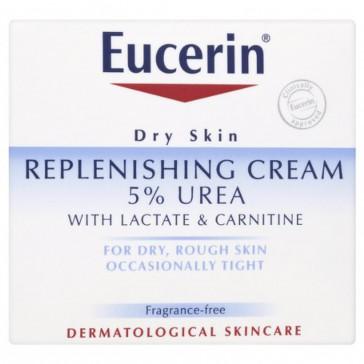 Eucerin Dry Skin Replenishing Cream with 5% Urea 75ml