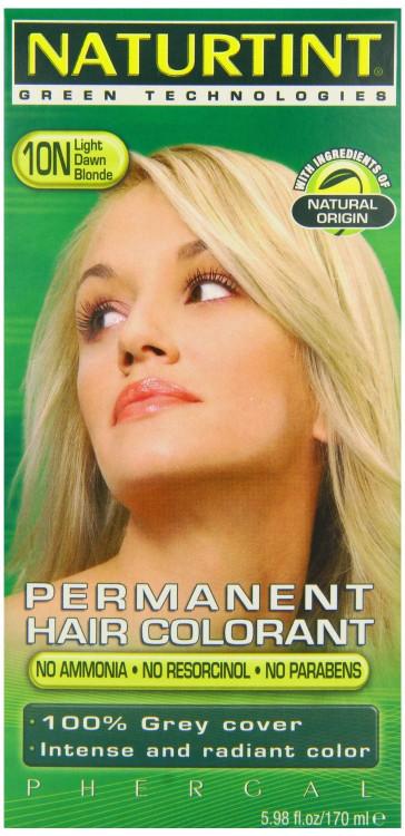 Naturtint Permanent 10N Light Dawn Blonde 170ml
