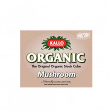 Kallo Mushroom Stock Cubes 66g