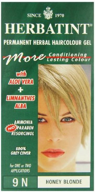 Herbatint 9N Honey Blonde Permanent Herbal Hair Colour Gel 135ml