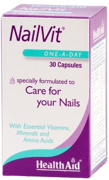 HealthAid NailVit - 30 Capsules