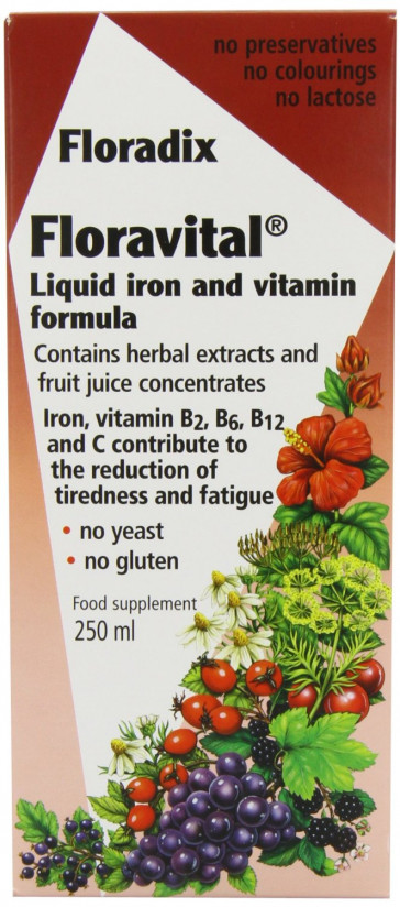 Floravital Iron Vitamin Formula Liquid 250ml