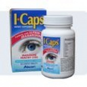 ICaps Dietary Supplement with Extra Lutein -30 Caps