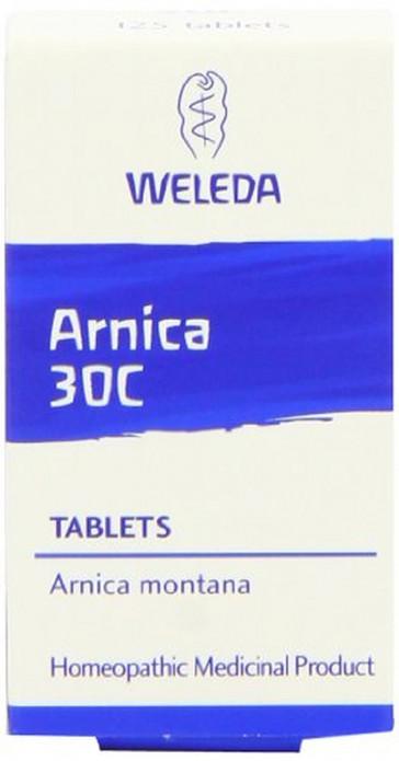 Weleda Arnica 30C - Pack of 125 Tablets