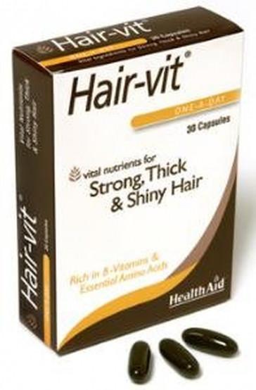 Healthaid Hair vit 30 Capsules: HealthAid