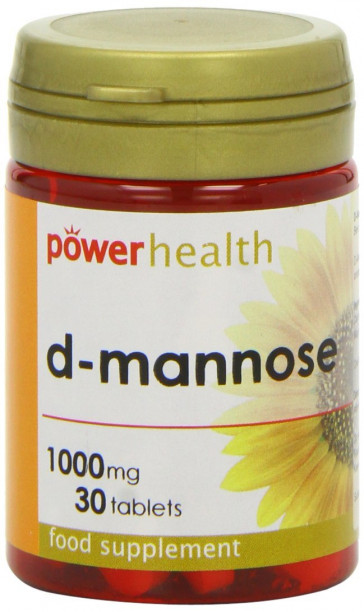Power Health 1000mg D-Mannose - Pack of 30 Tablets