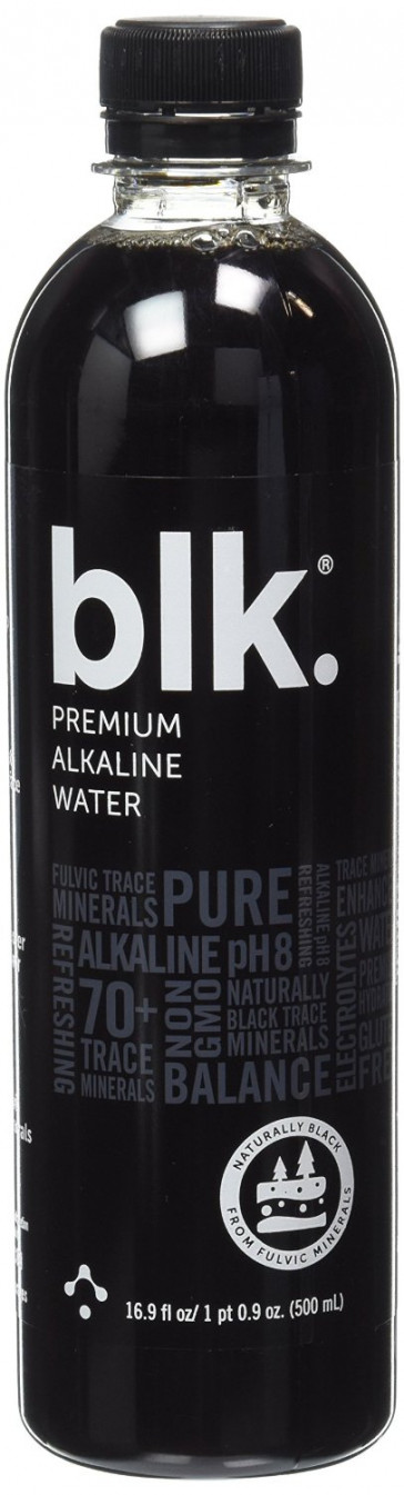 BLK Alkaline Fulvic Trace Mineral Infused Spring Water
