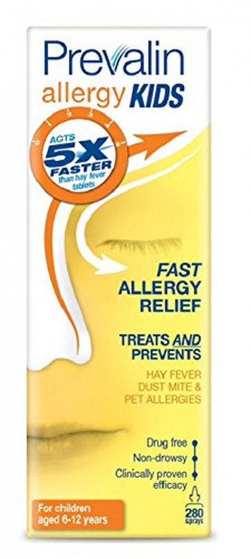 Prevalin Allergy Kids Nasal Spray - 20 ml, 280 Doses