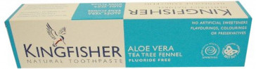 Kingfisher Aloe Vera Tea Tree & Fennel - F/Free [100ml] (Pack of 3)
