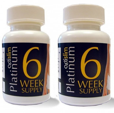 Actislim Platinum 12 Week Supply 2 x 84 Capsules
