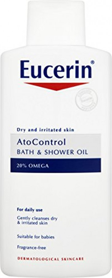 Eucerin 400ml control bath and shower oil