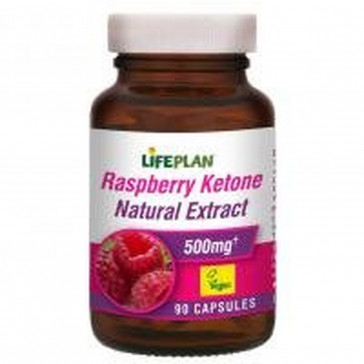 Lifeplan Raspberry Ketone Natural Extract 500mg 90 Caps