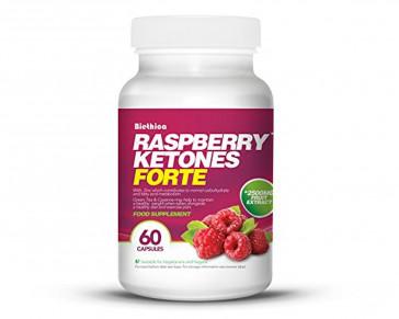 Biethica Raspberry Ketones Forte Capsules - Pack of 60