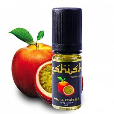 Eshish - PEACH & PASSION FRUIT E LIQUID 0mg