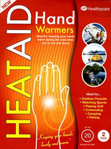 Heat Aid Hand Warmers 1 Pair