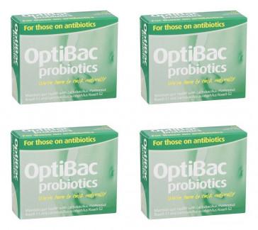 (4 PACK) - Optibac Optibac - For Those On Antibiotic Capsules | 10s | 4 PACK - SUPER SAVER - SAVE MONEY