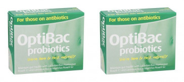 (2 PACK) - Optibac Optibac - For Those On Antibiotic Capsules | 10s | 2 PACK - SUPER SAVER - SAVE MONEY