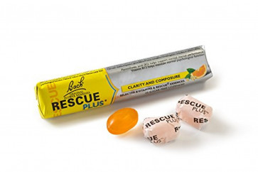 Rescue PLUS Lozenge Orange and Elderflower