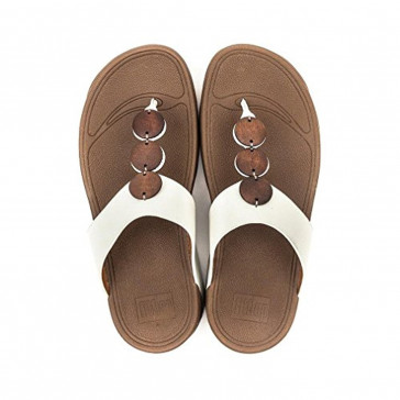Fitflop Petra Sandals White 7 UK