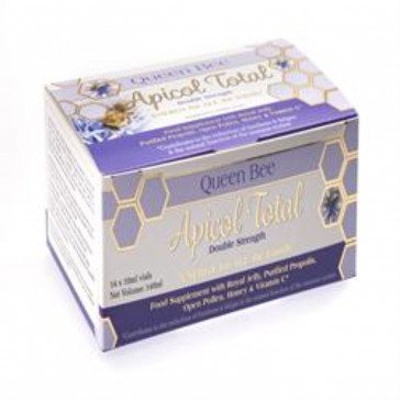 Queen Bee Apicol Total Royal Jelly 14 x 10ml