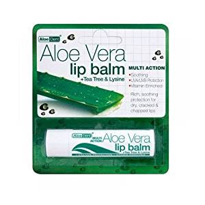 (8 PACK) - Aloe Vera Aloe Vera Lip Balm   4g   8 PACK - SUPER SAVER - SAVE MONEY