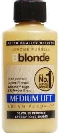 Jerome Russell BBlonde Medium Lift Cream Peroxide 9% 30Vol - 75ml PACK OF 2