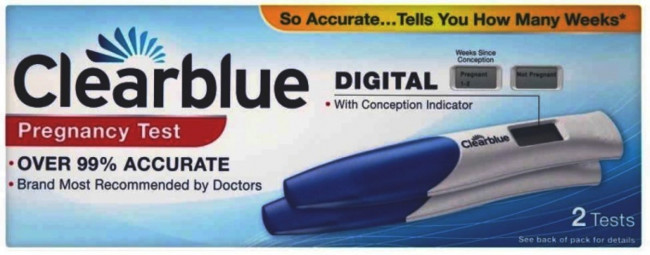 Clearblue Digital Pregnancy Test Kit Conception Indicator