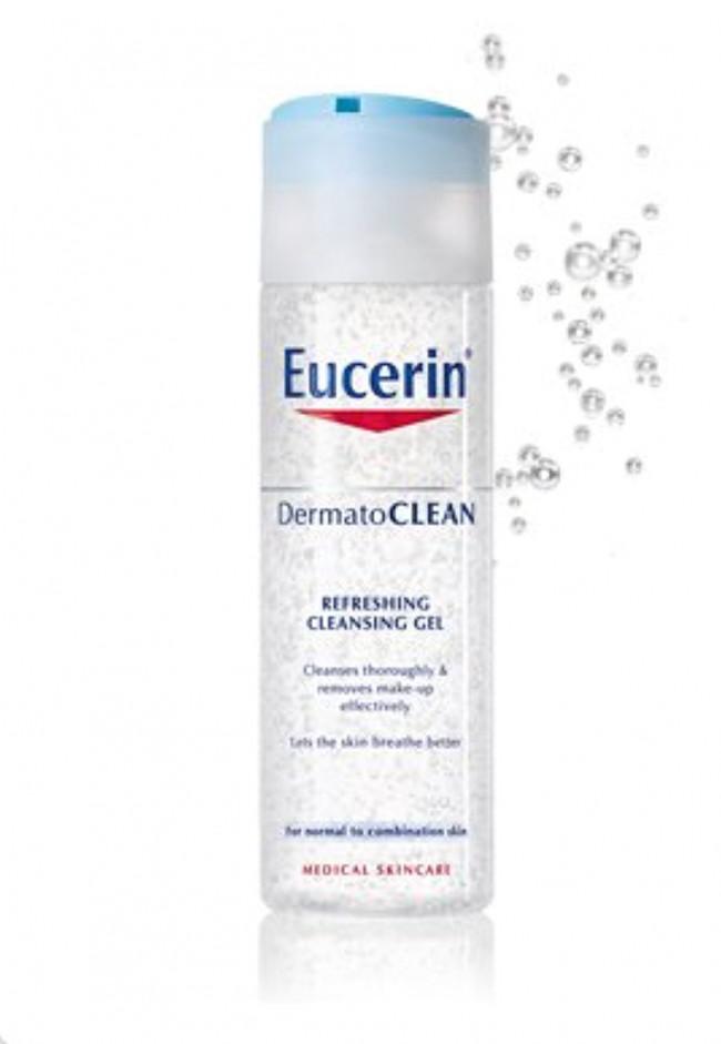 eucerin dermatoclean cleansing gel