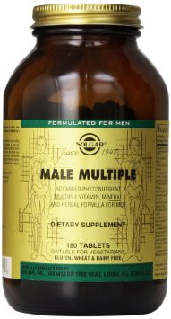 Solgar Male Multiple Tablets - Pack of 120