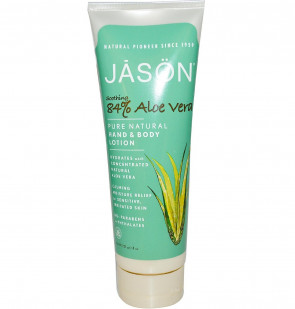 Jason Natural Products Aloe Vera 84% Hand and Body Lotion 227g