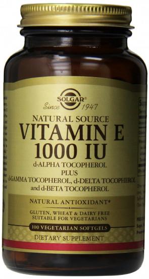 Solgar Vitamin E 671 mg  1000 iu  Vegetable Softgels