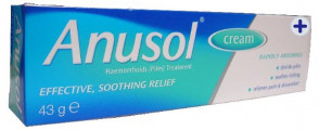 Anusol Haemorrhoids (Piles) Treatment Cream, 43 g