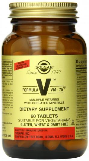 Solgar Formula VM-75 Tablets - 90 Tablets