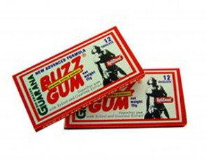 GoGo Guarana Buzz Gum