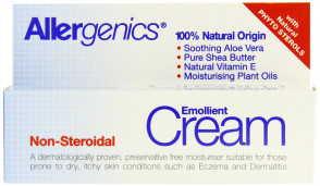 Allergenics Natural Emollient Non-Steroidal Cream 50 ml