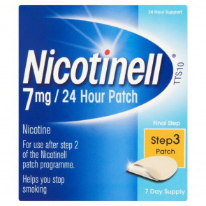 Nicotinell 7 mg/24 Hour Nicotine Patch Step 3, 7 Day Supply