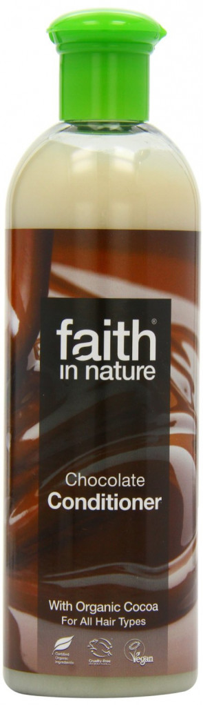 Faith In Nature Chocolate Conditioner Benefits Brunette & Black Hair 400ml