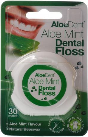 AloeDent Aloe Vera Dental Floss, 30m