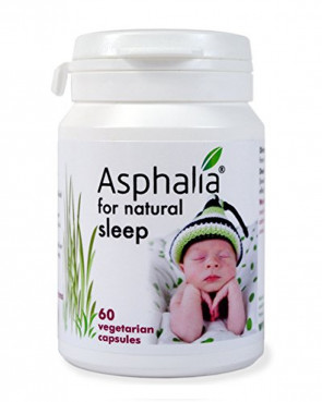 Asphalia for Natural Sleep 60 Caps