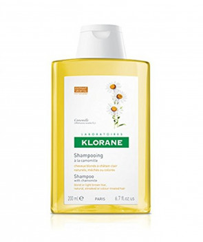 Klorane Camomile Shampoo For Blonde Hair 200ml