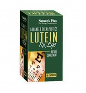 Nature's Plus, Advanced Therapeutics, Lutein RX Eye, 60 Veggie Caps