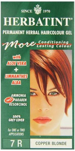 Herbatint 7R Copper Blonde Permanent Herbal Hair Colour Gel 135ml