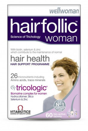 Vitabiotics Hairfollic Woman - 60 Tablets