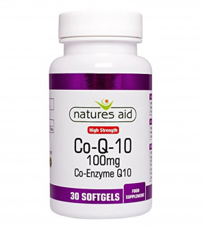 Natures Aid Co-Q-10 Capsules 100mg Pack of 30