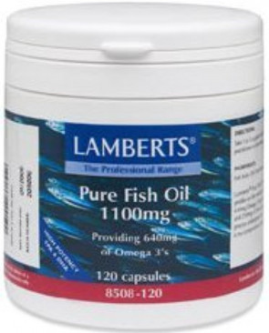 Lamberts Pure Fish Oil 1100mg - 120 Caps