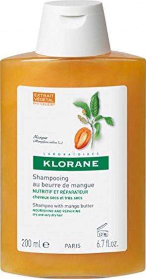 Klorane Mango Butter Shampoo 200ml