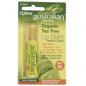 Australian Tea Tree Organic Lip Balm 5.7ml