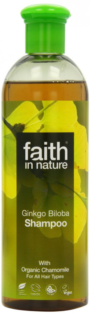 Faith In Nature Ginkgo Biloba Shampoo Benefits Fine, Fair & Blonde Hair 400ml