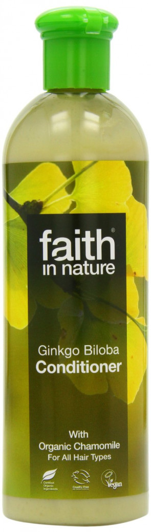 Faith In Nature Ginkgo Biloba Conditioner Benefits Fine,Fair & Blonde Hair 400ml