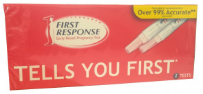 2 x First Response Pregnancy Testing Kits - One Step - 2 x Double Test Pack